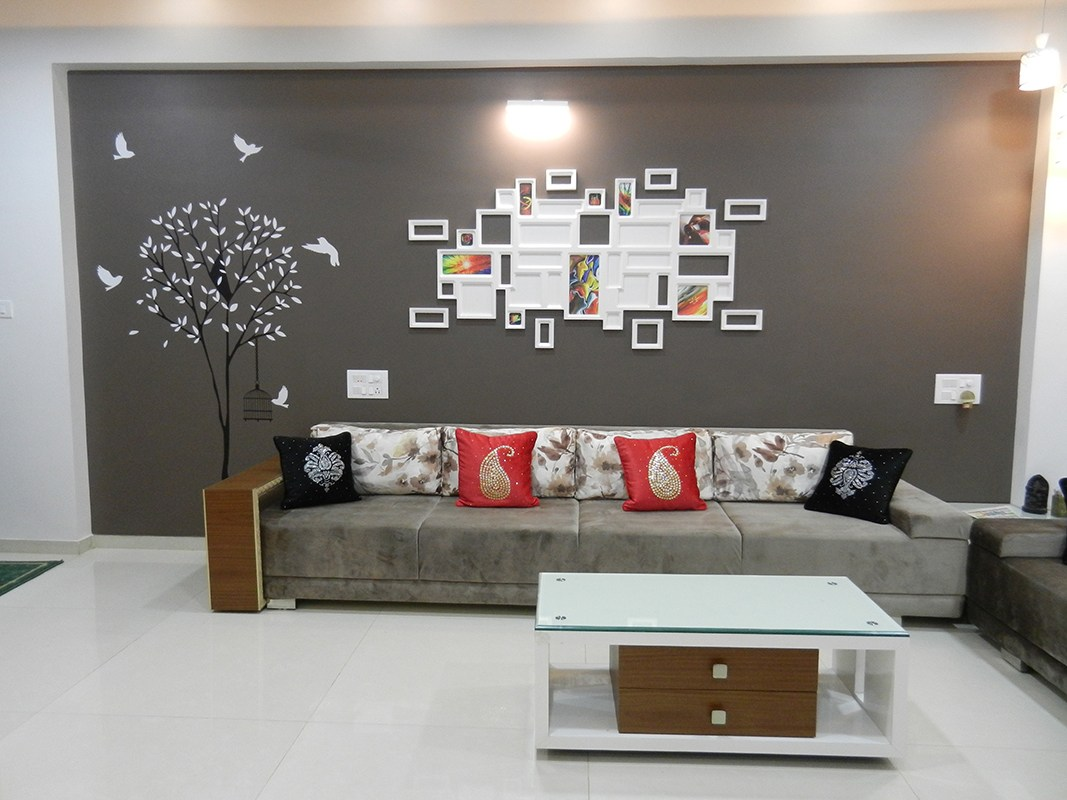 Spacious Living room by Jigar Patel Living-room Contemporary | Interior Design Photos & Ideas