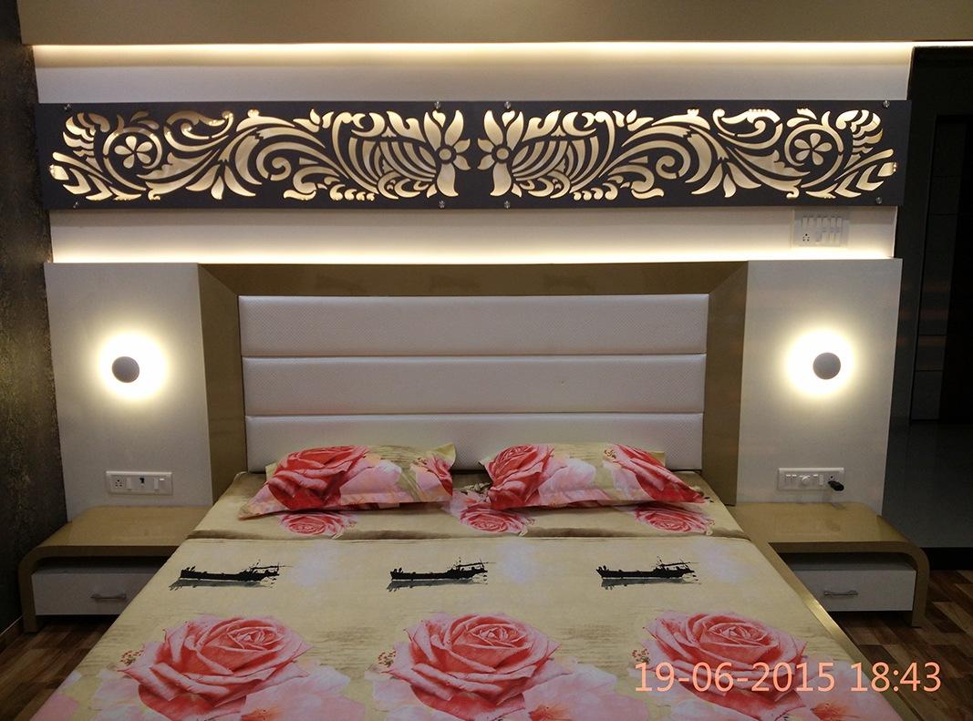 Modern Bedroom by Jigar Patel Contemporary   Interior Design Photos & Ideas