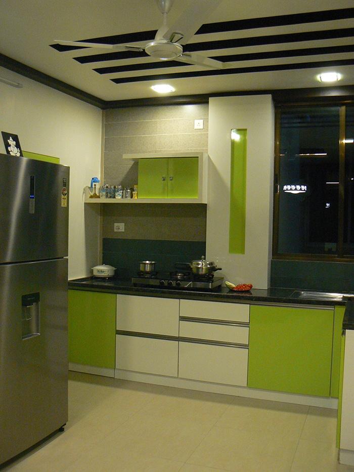 green modular kitchenjigar patel