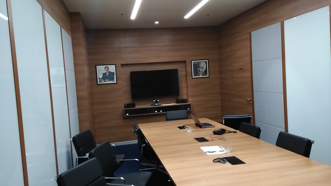 meeting room by Suryakant Sutar Modern | Interior Design Photos & Ideas