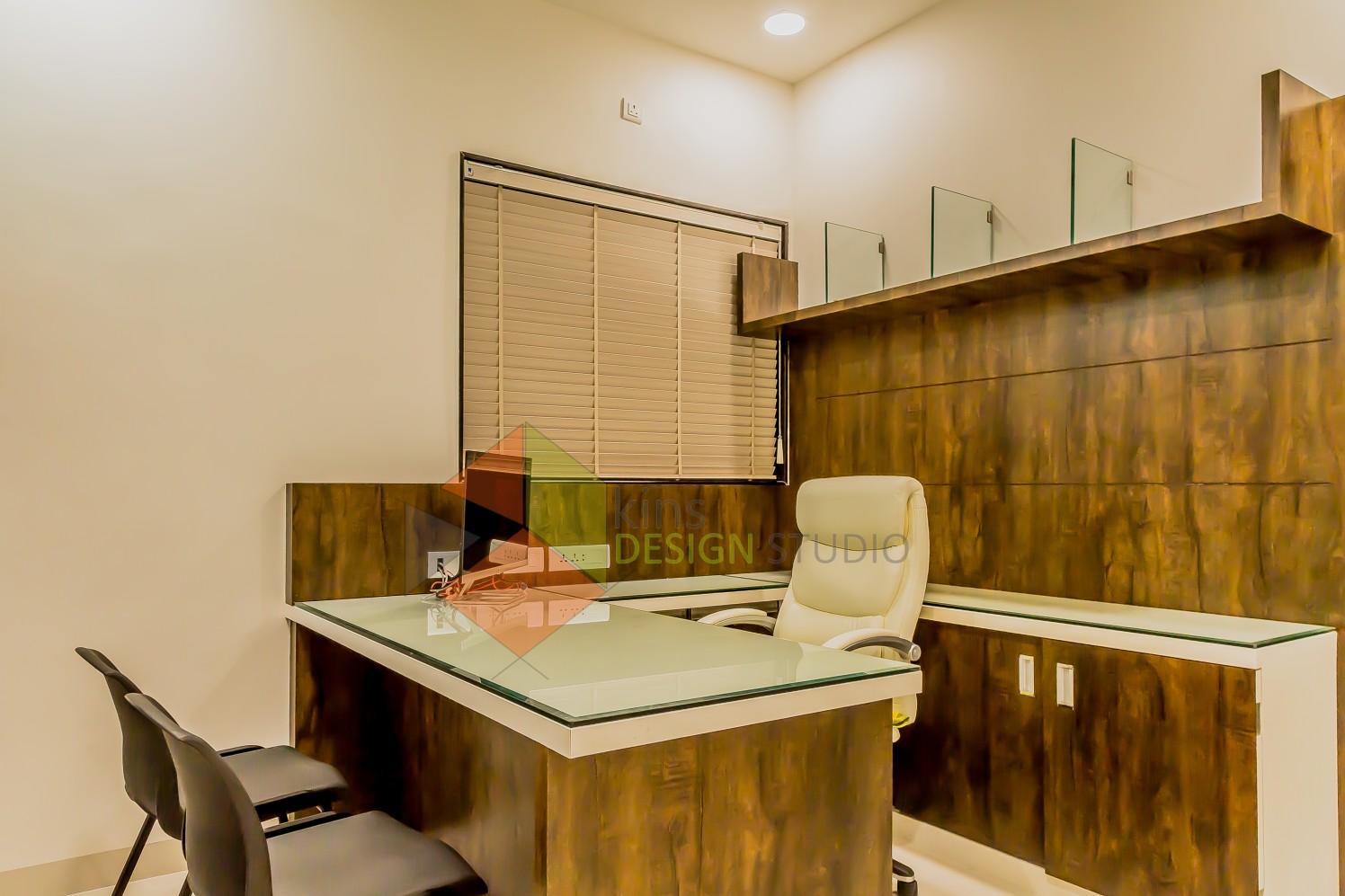 Doctor's Cabin by Kinnera Naresh Modern | Interior Design Photos & Ideas