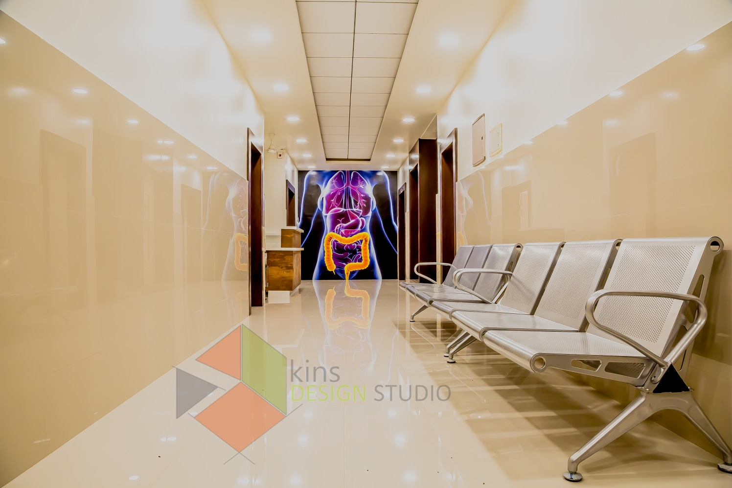 Let's Wait for the Appointment by Kinnera Naresh Modern | Interior Design Photos & Ideas
