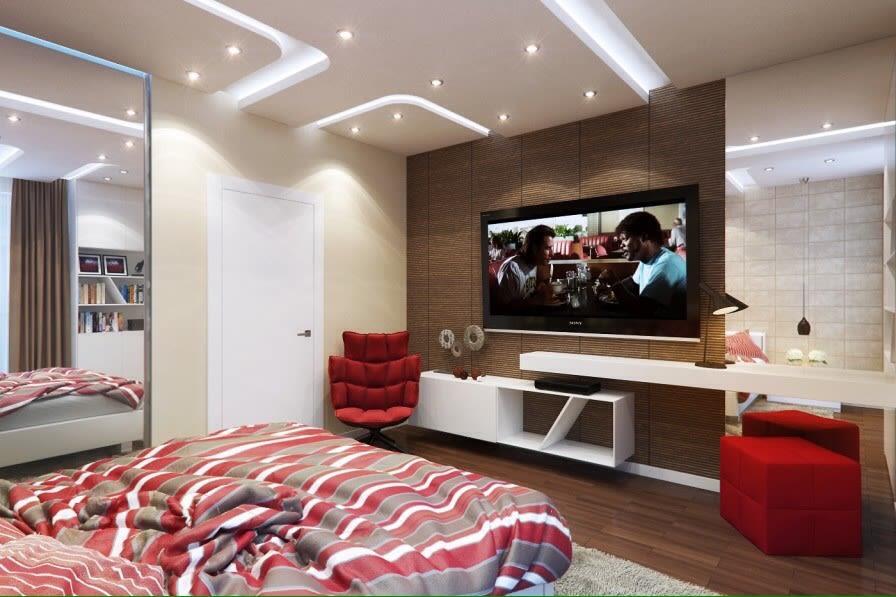 Modern Bedroom by Gunmant Singh Modern | Interior Design Photos & Ideas