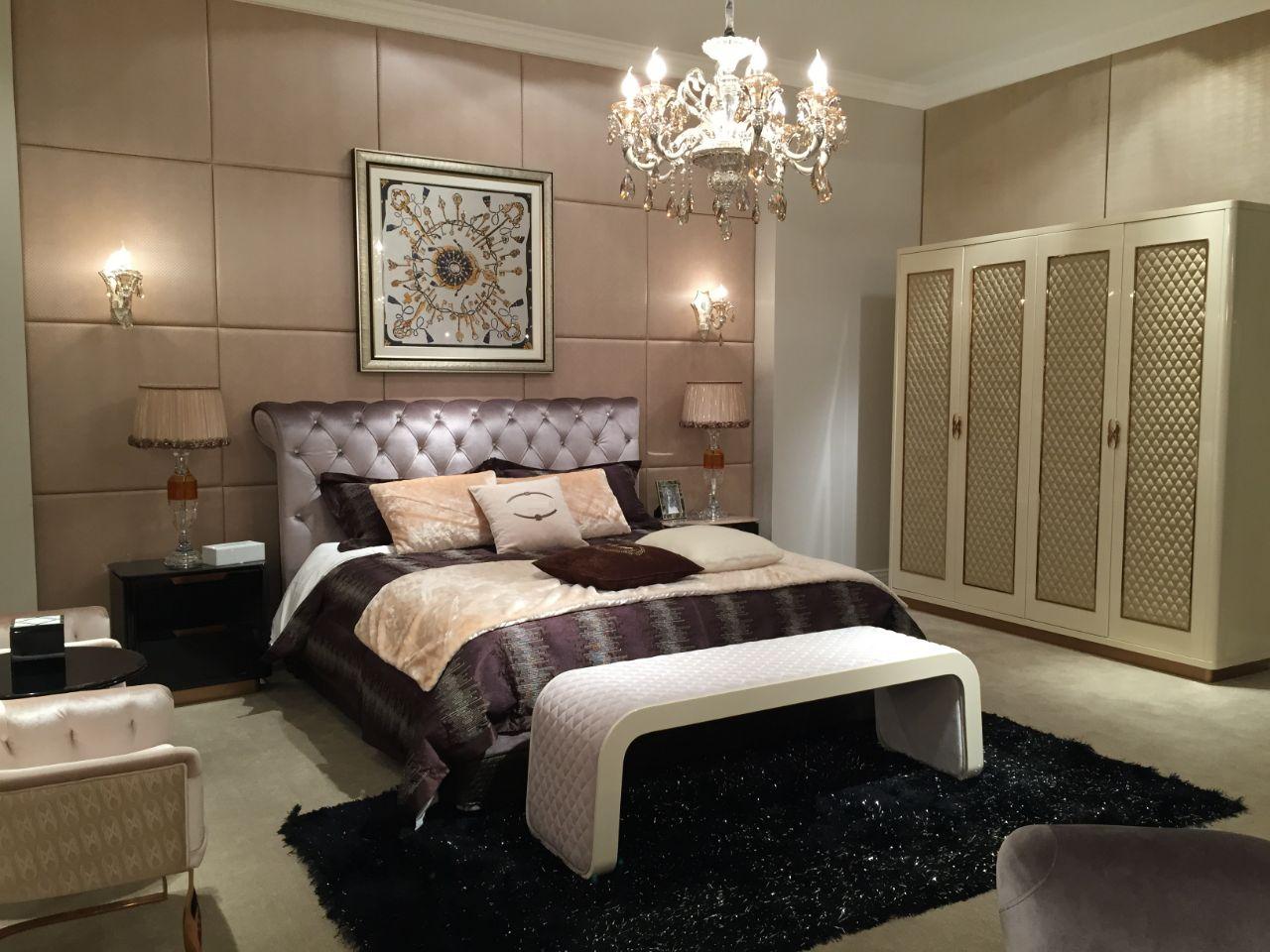 Beige shade bedroom with wardrobe by Gunmant Singh Contemporary | Interior Design Photos & Ideas