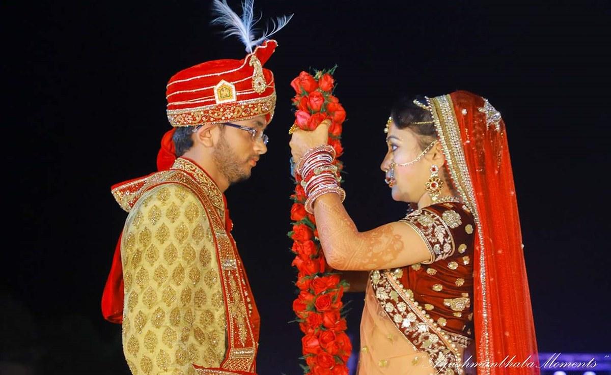 Garland Ceremony by Ayushmanbhaba Moments Wedding-photography | Weddings Photos & Ideas