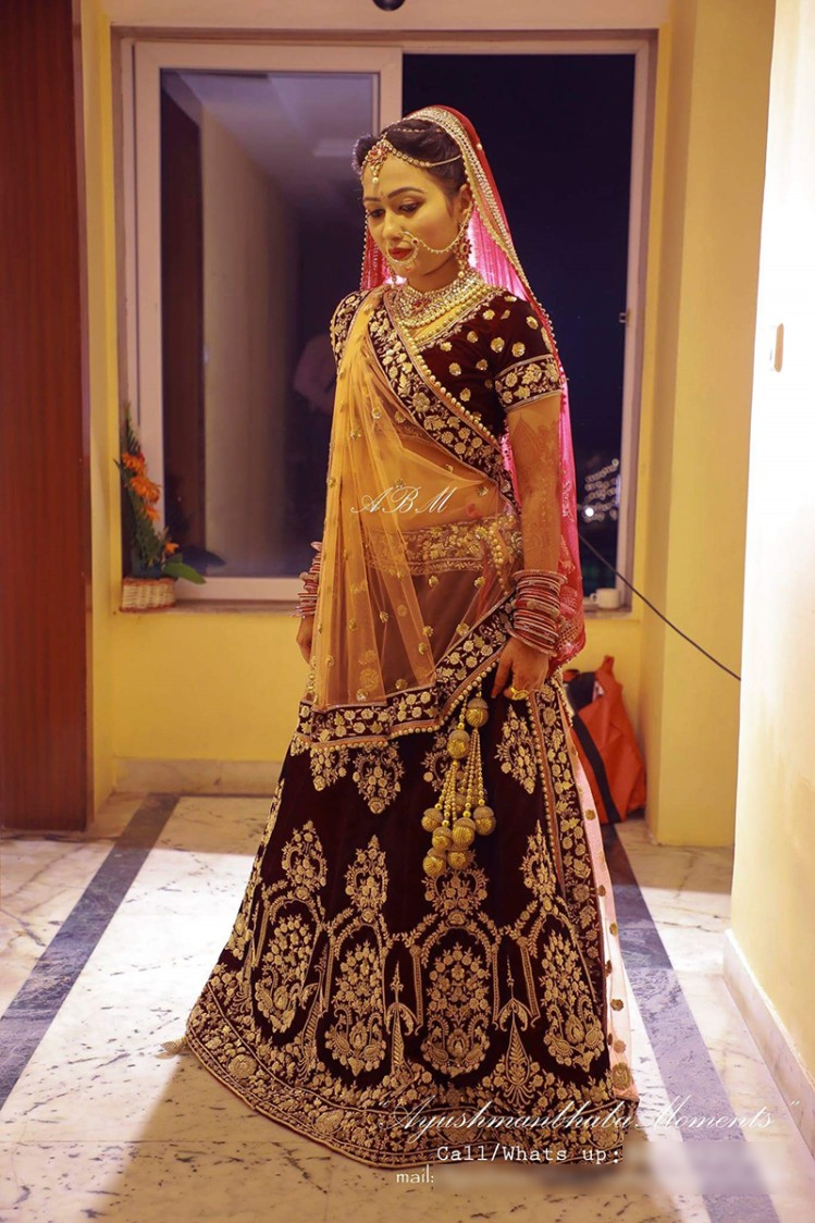 Bridal Portrait by Ayushmanbhaba Moments Wedding-photography   Weddings Photos & Ideas