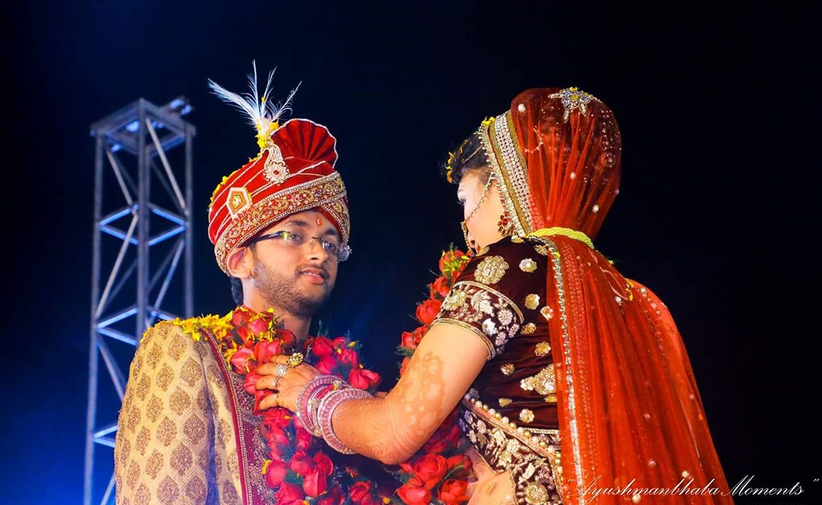 Garland Ceremony by Ayushmanbhaba Moments Wedding-photography | Weddings Photos & Ideas