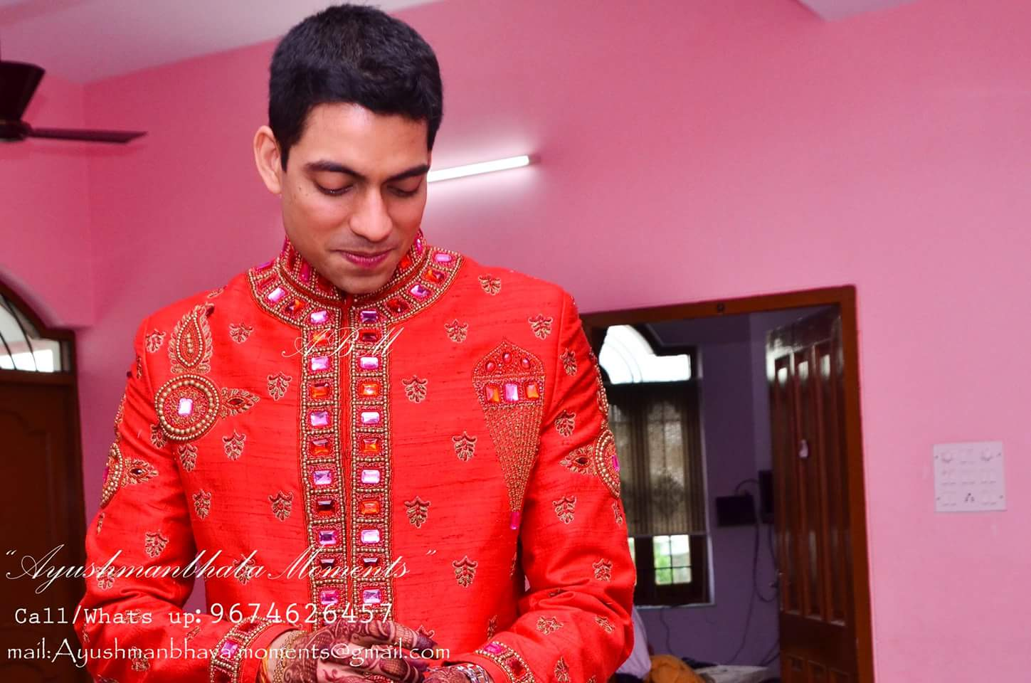 Groom In Red by Ayushmanbhaba Moments Wedding-photography | Weddings Photos & Ideas