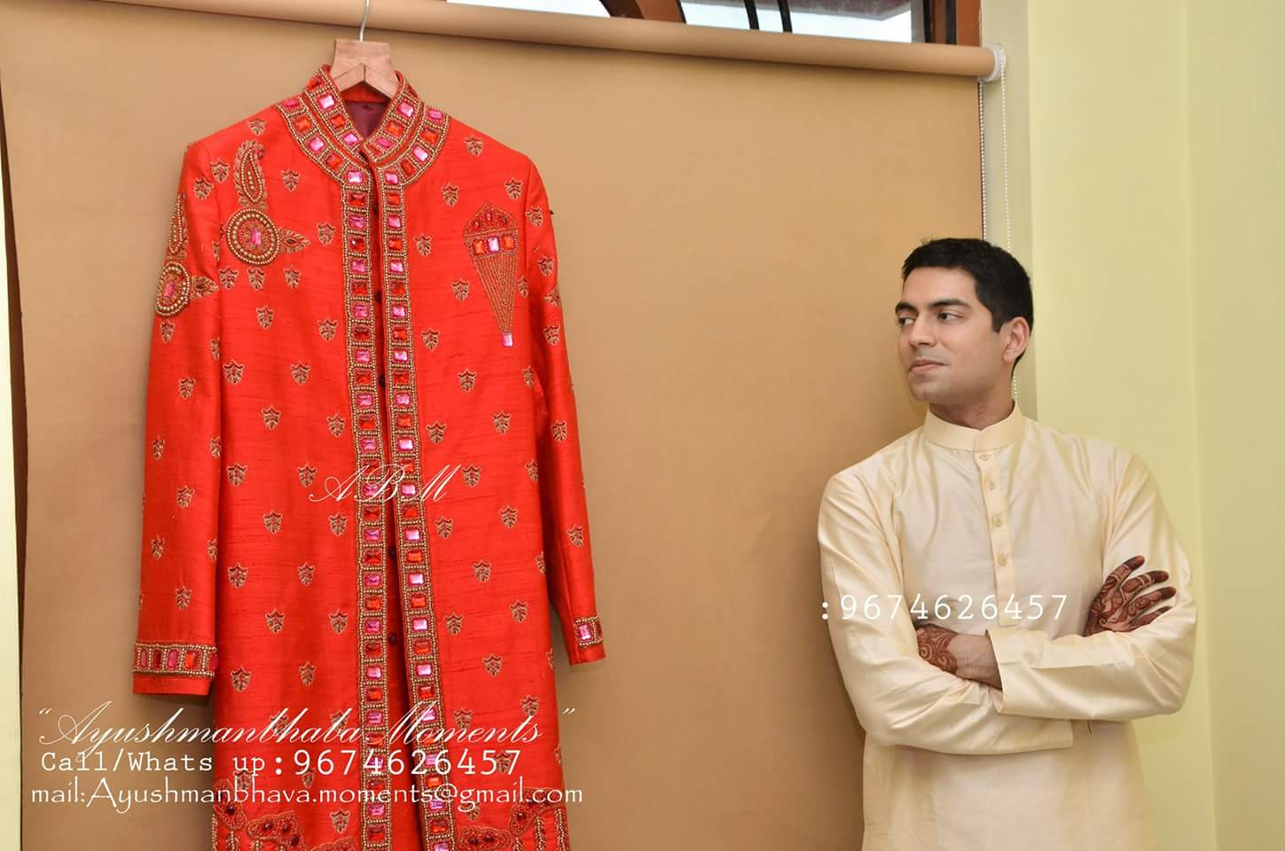 Groom's Attire by Ayushmanbhaba Moments Wedding-photography | Weddings Photos & Ideas