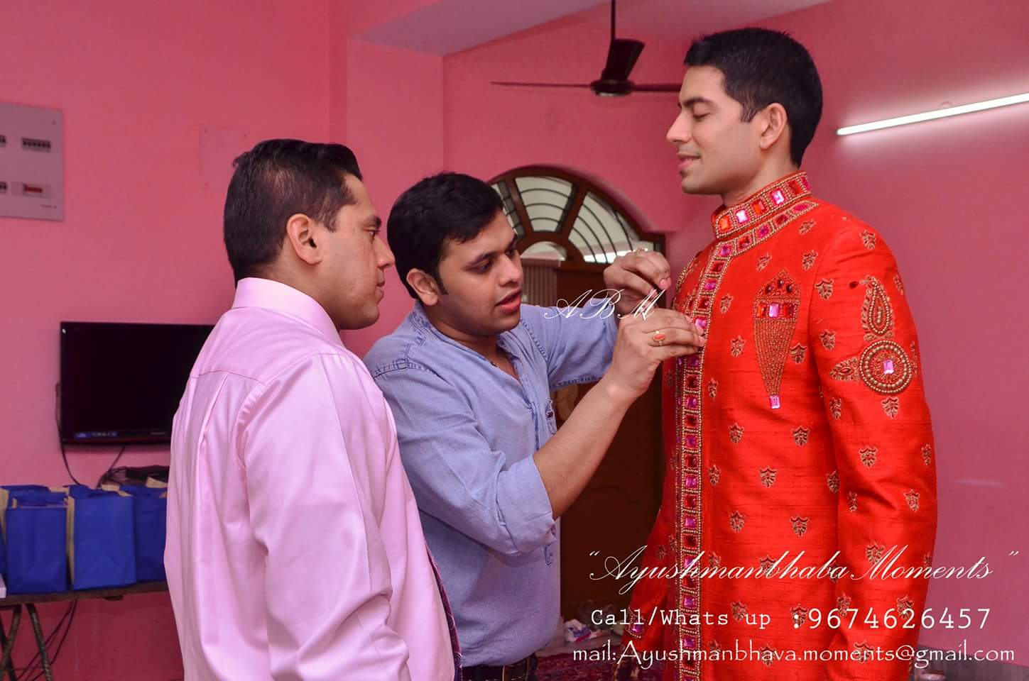 Groom Getting Ready by Ayushmanbhaba Moments Wedding-photography | Weddings Photos & Ideas
