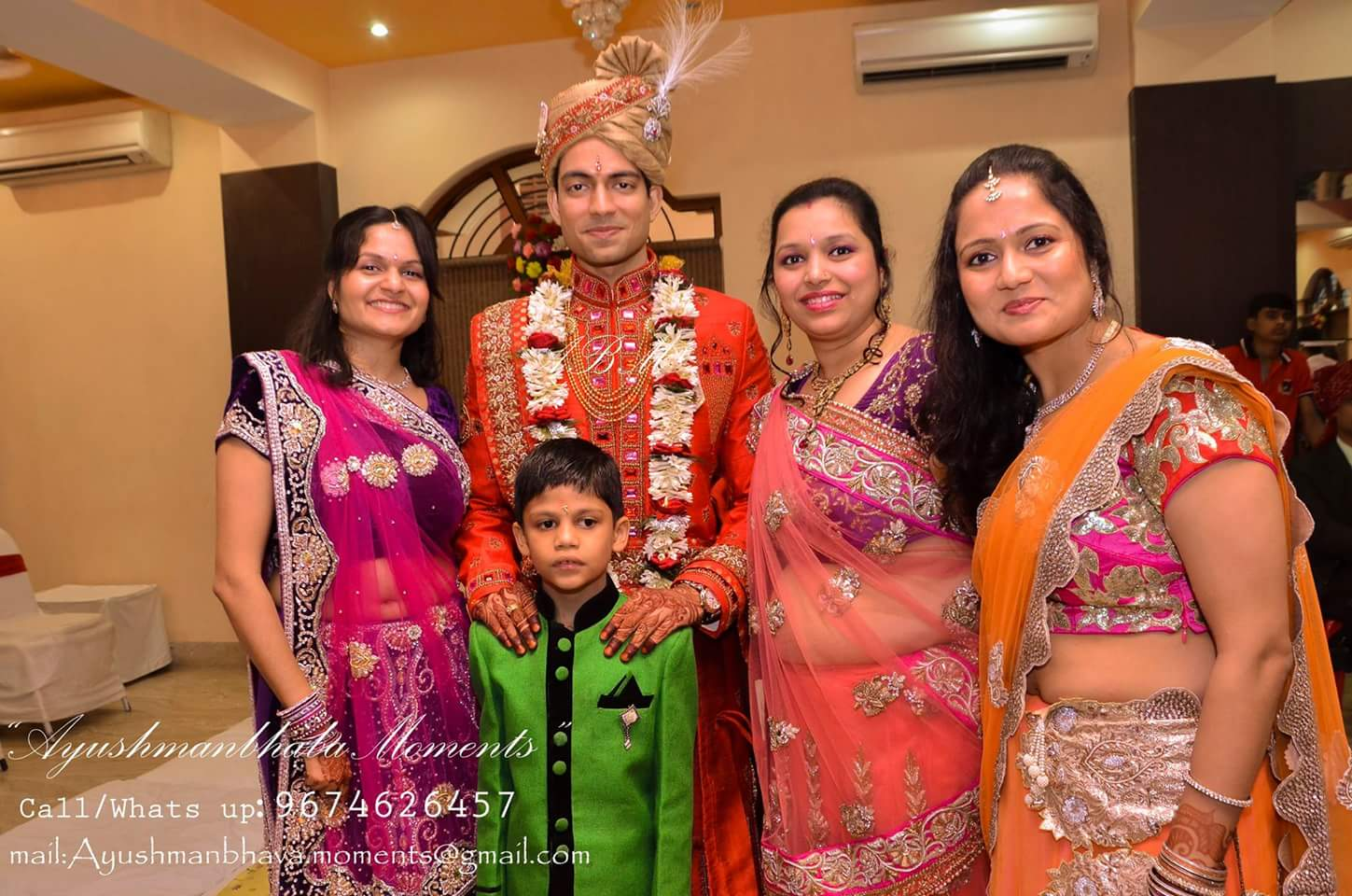 Family Shot by Ayushmanbhaba Moments Wedding-photography | Weddings Photos & Ideas