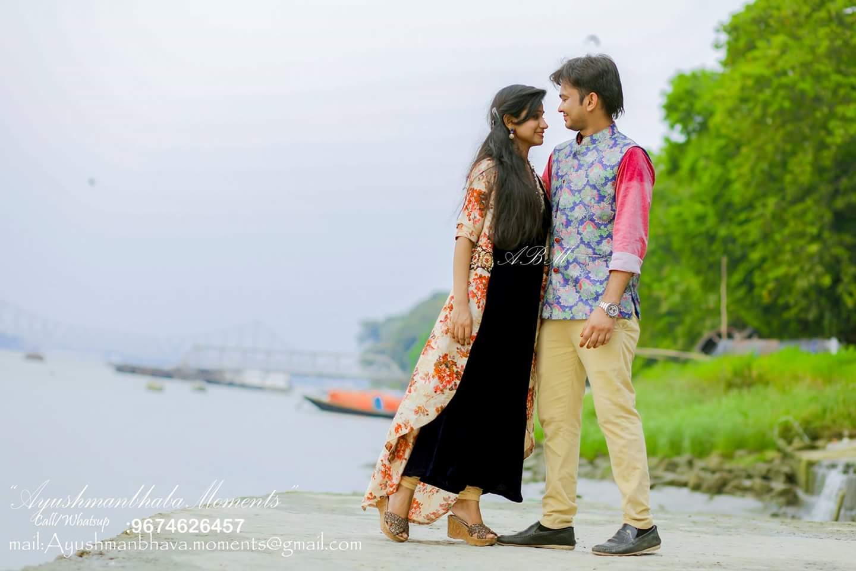 Pre-wedding Delight by Ayushmanbhaba Moments Wedding-photography | Weddings Photos & Ideas