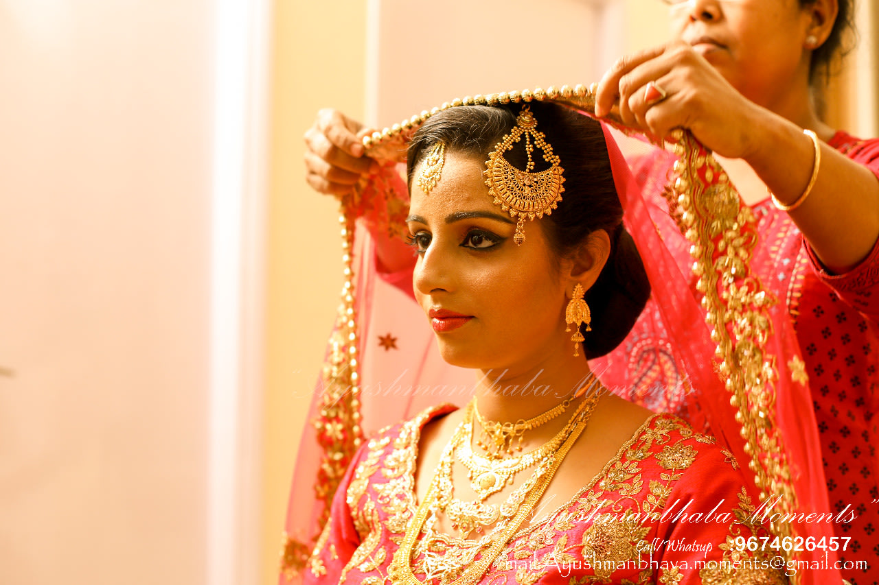 Getting Ready Shot by Ayushmanbhaba Moments Wedding-photography | Weddings Photos & Ideas