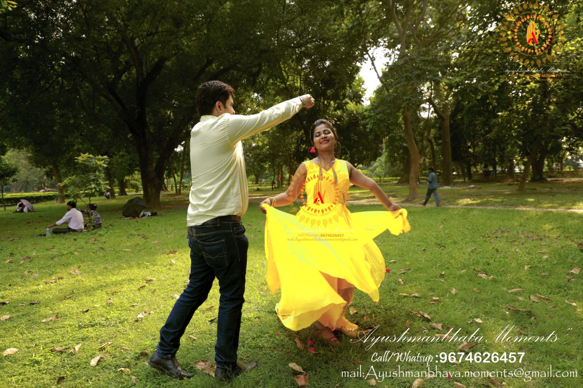 Pre wedding Delight by Ayushmanbhaba Moments Wedding-photography | Weddings Photos & Ideas
