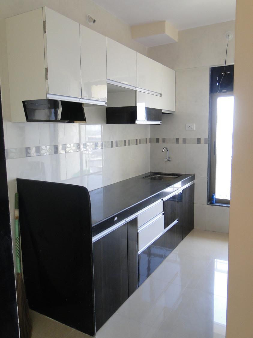 Simple Modular Kitchen by Aashirwad Koli