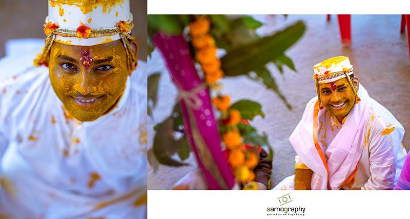 Haldi Ceremony by Samography Wedding-photography | Weddings Photos & Ideas