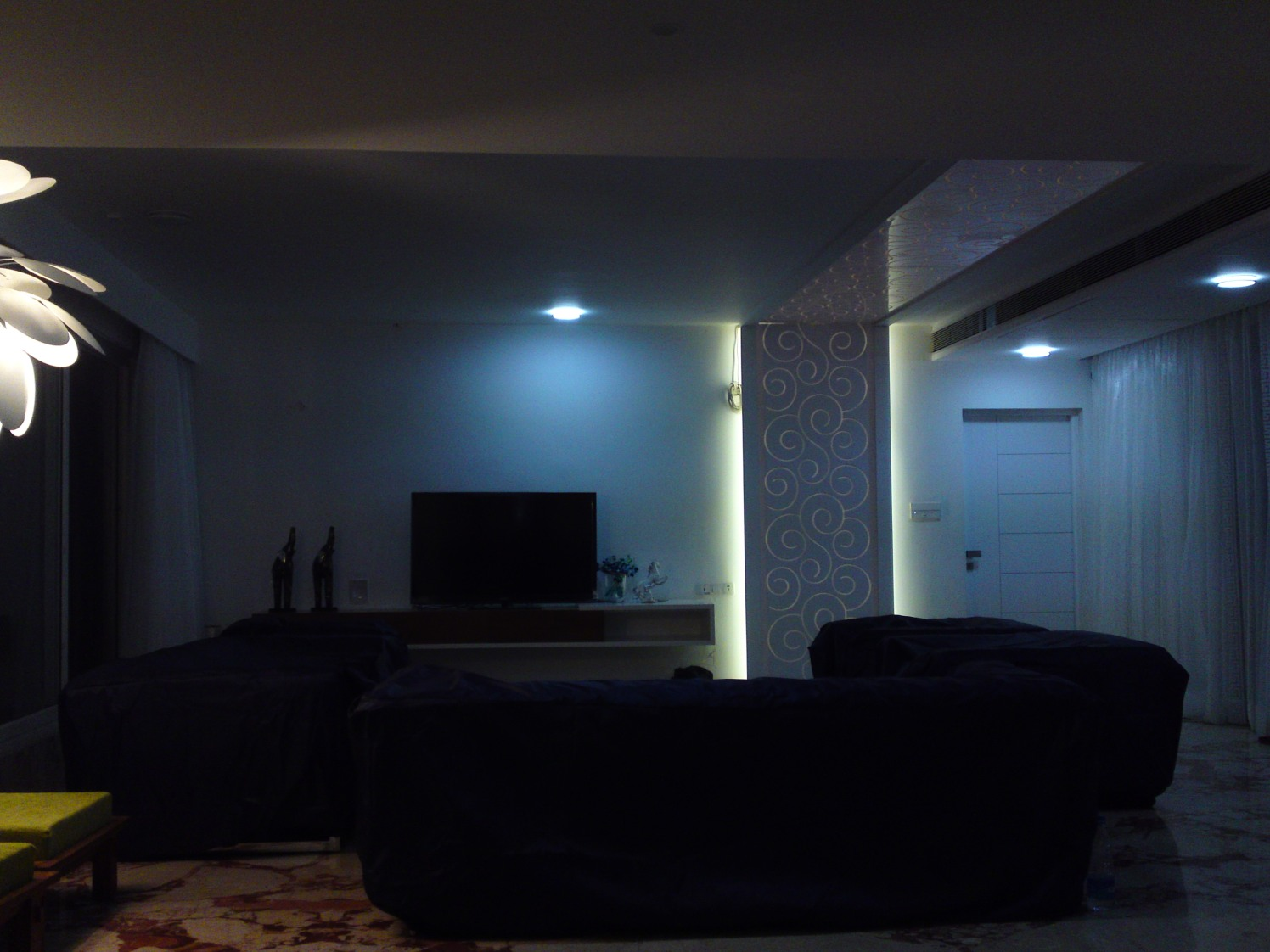 Modern Living Room by Deepti Srivastava Living-room Contemporary | Interior Design Photos & Ideas