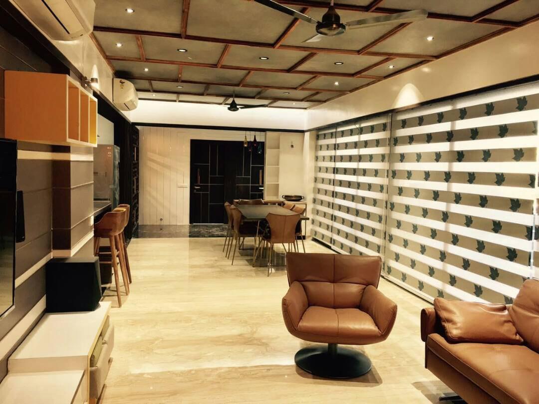 Modern Dining Room by Deepti Srivastava Dining-room Contemporary | Interior Design Photos & Ideas