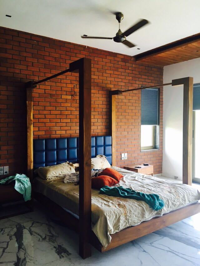Modern Bed Room by Deepti Srivastava Bedroom Contemporary | Interior Design Photos & Ideas