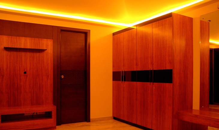 Wooden Cupboards by Deepti Srivastava Indoor-spaces Minimalistic | Interior Design Photos & Ideas