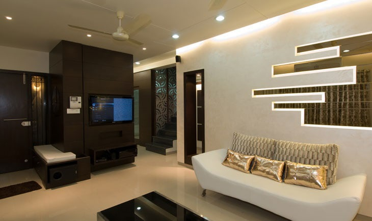 The Modern Living Room by Deepti Srivastava Living-room Modern | Interior Design Photos & Ideas
