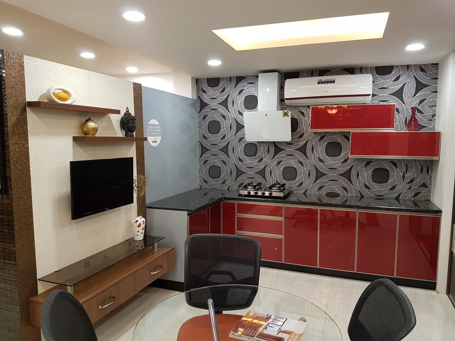 All in one by Karthy Modern | Interior Design Photos & Ideas