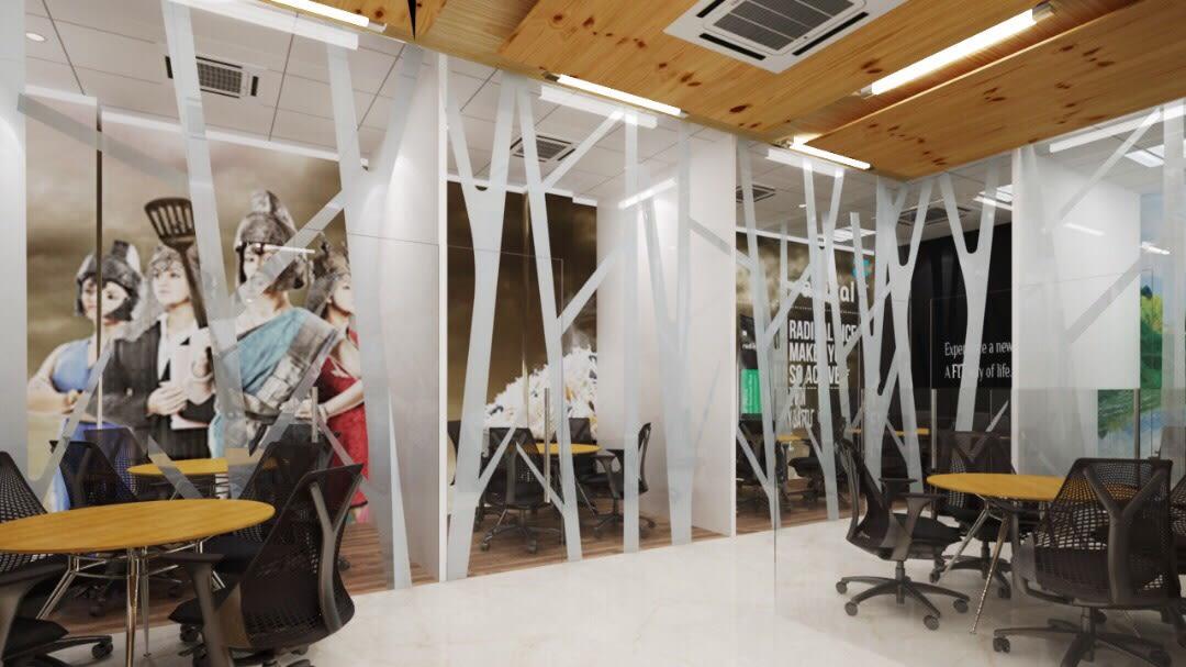 Splendid Office by Anil Verma Contemporary | Interior Design Photos & Ideas