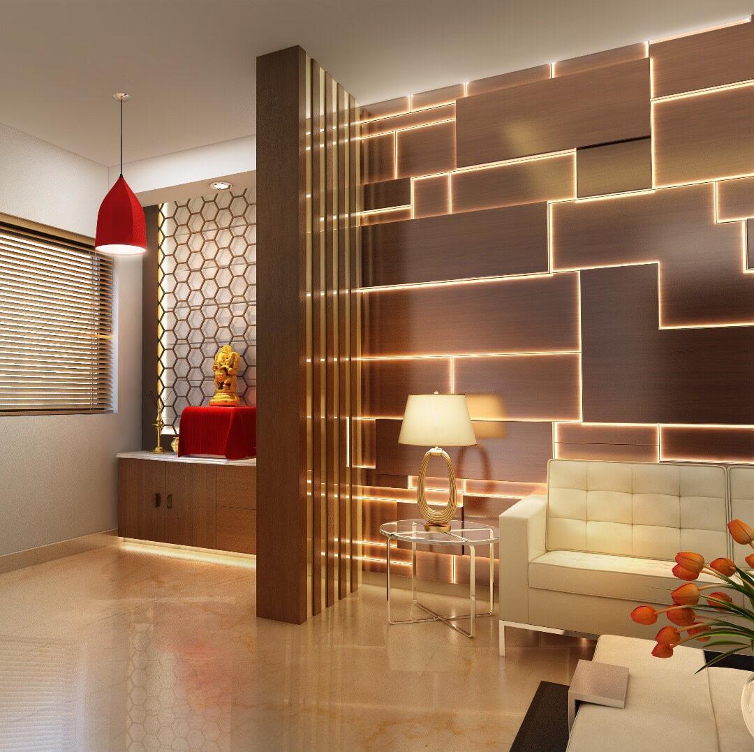 Modern Residential Space by Anil Verma Contemporary | Interior Design Photos & Ideas