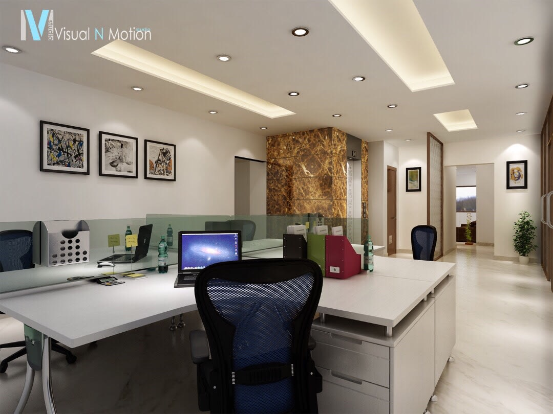 Modern Office Space by Anil Verma Contemporary | Interior Design Photos & Ideas