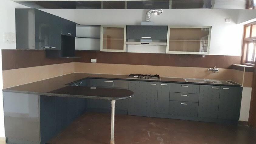 Modular Kitchen by Bashier Ahmed Modern | Interior Design Photos & Ideas
