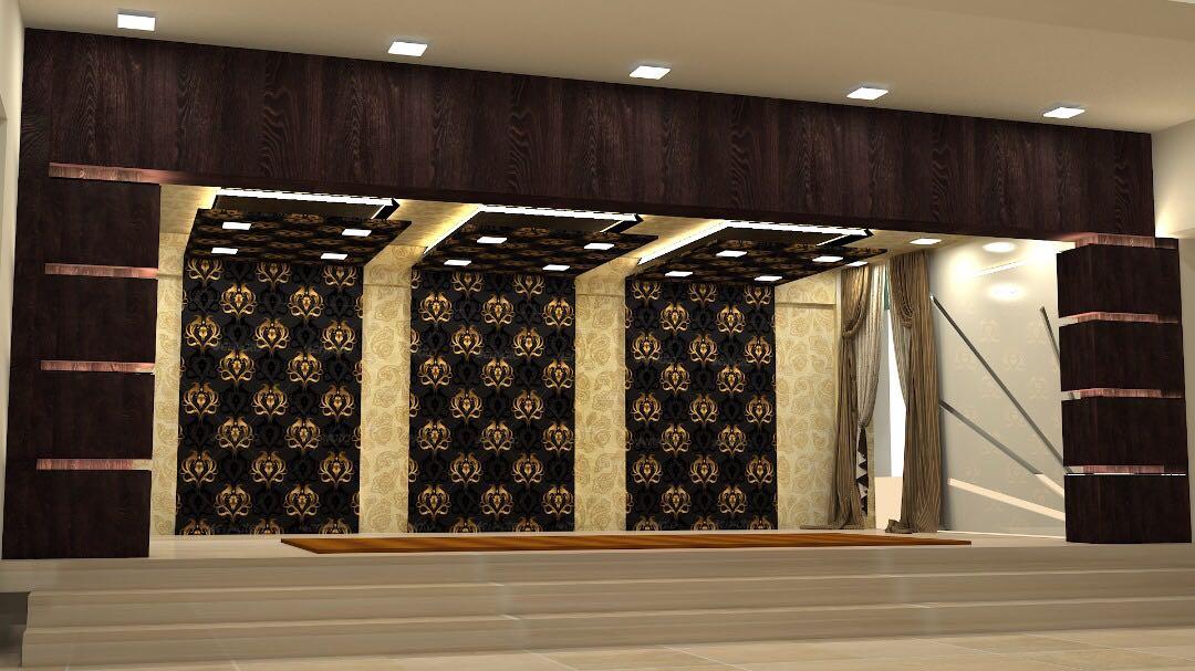 Lavish Hall by Bashier Ahmed Modern | Interior Design Photos & Ideas
