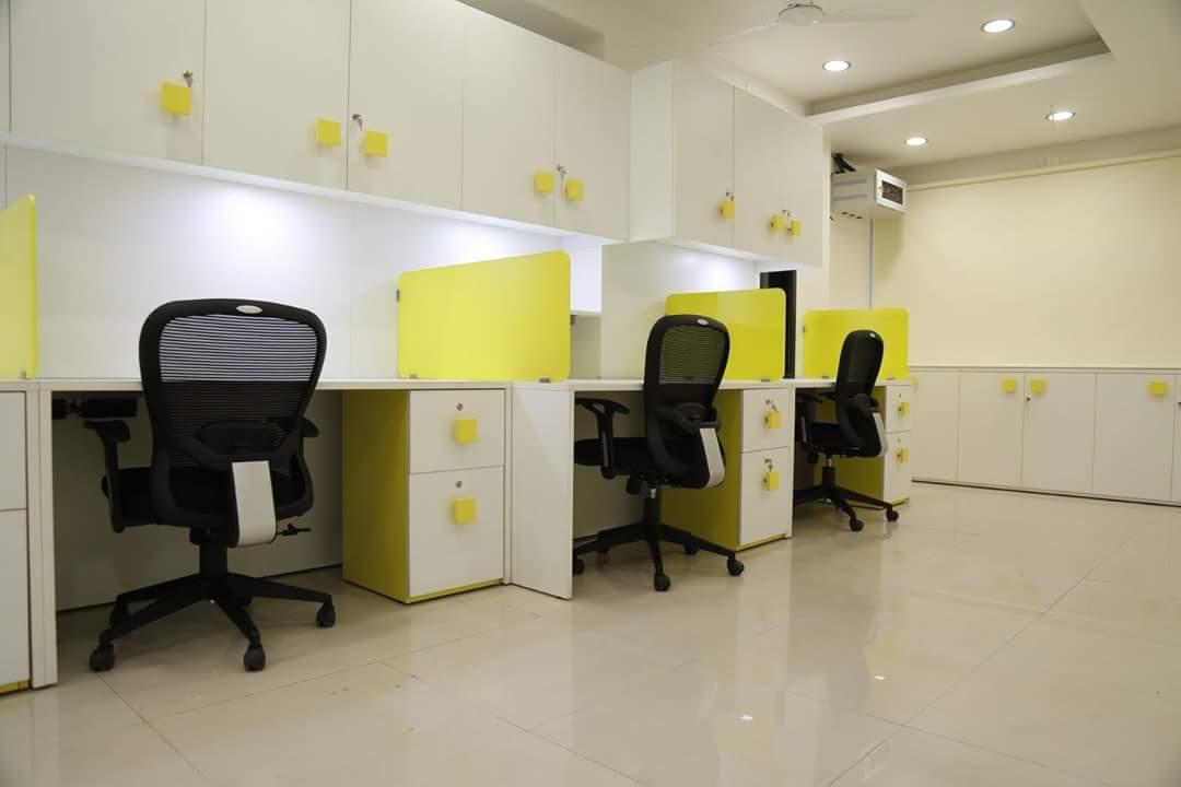 Yellow Space by Neeraja Kanitkar