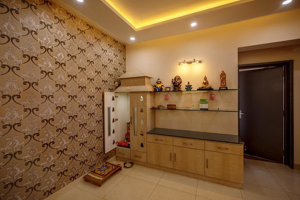 Contemporary display set by Shubhashis Shomil Living-room Contemporary | Interior Design Photos & Ideas