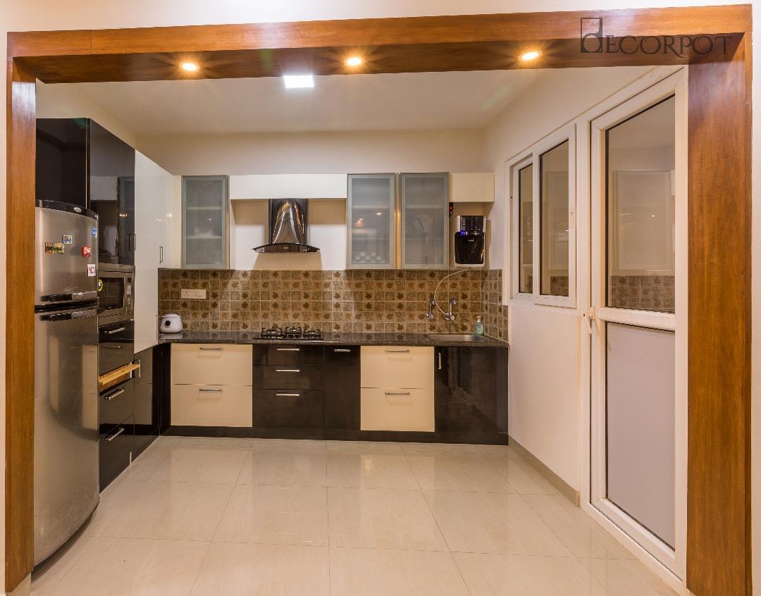 Modern modular kitchen by Shubhashis Shomil Modular-kitchen Contemporary | Interior Design Photos & Ideas
