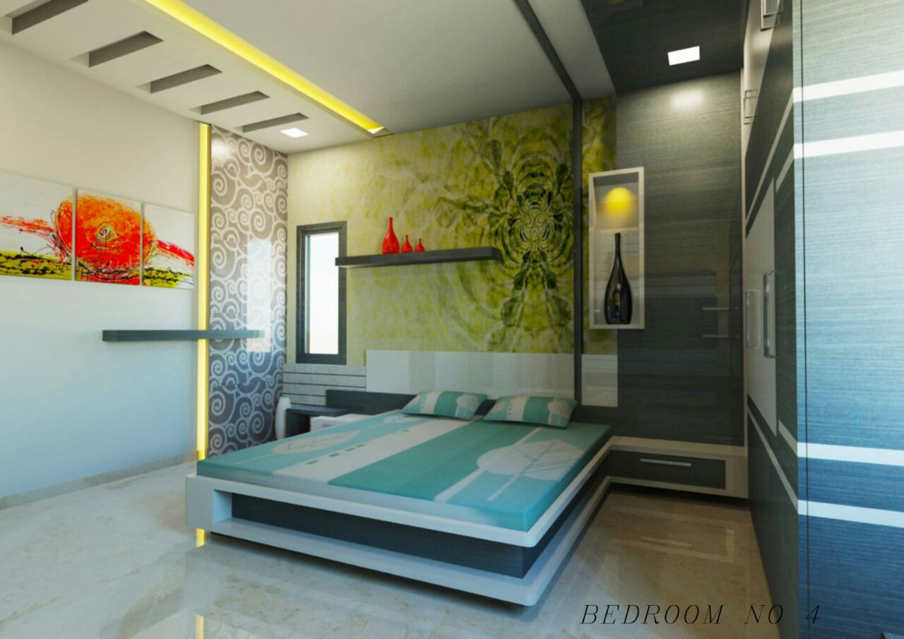 Artistic Den by Shraddha B. Modern | Interior Design Photos & Ideas