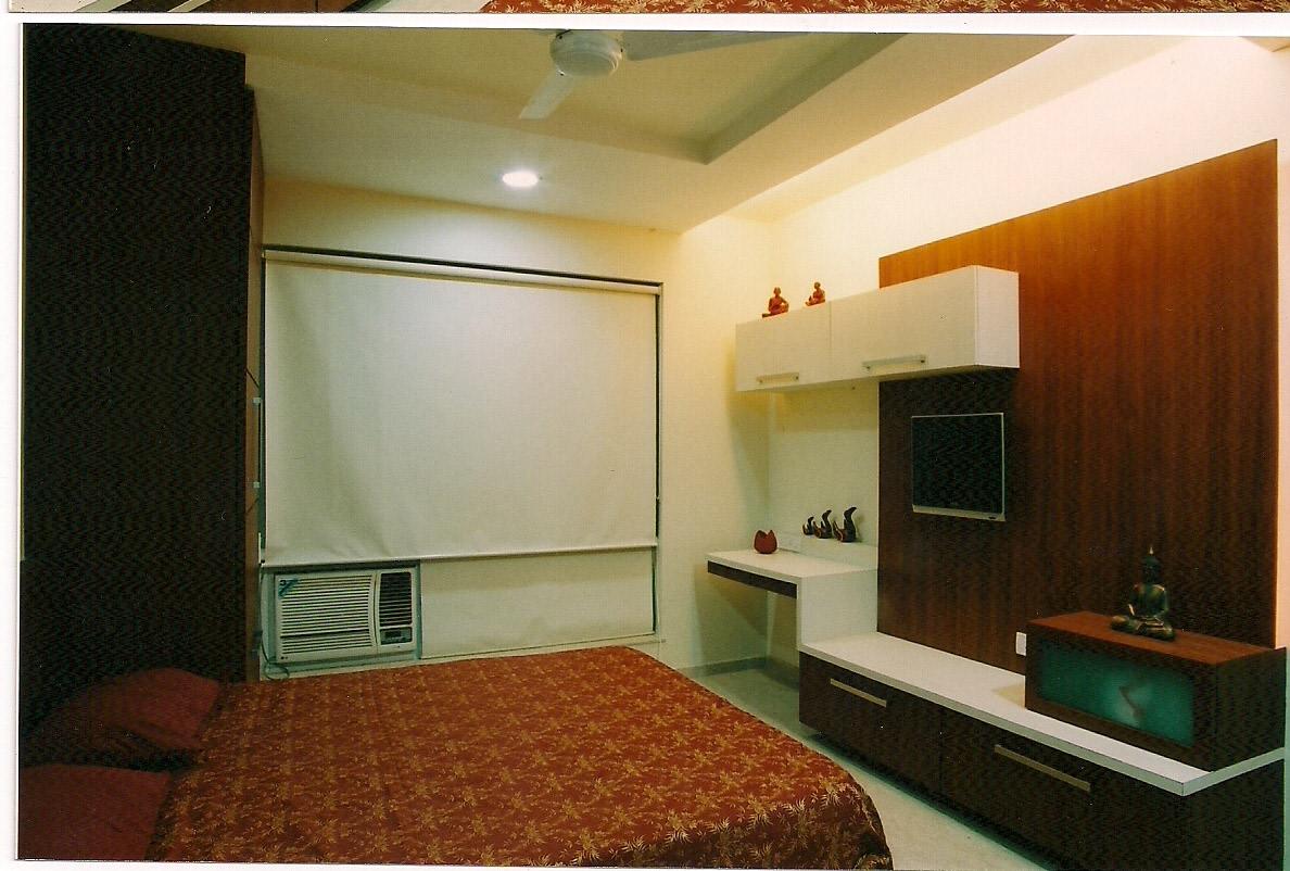Red And White by Aparna Mayekar Varadkar Modern | Interior Design Photos & Ideas