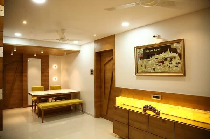 Of Yellows and Browns by Atit Barbhaya Modern | Interior Design Photos & Ideas