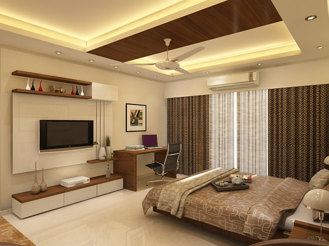 Contemporary bedroom with marble flooring by Jamshed Ahmed Bedroom Contemporary | Interior Design Photos & Ideas