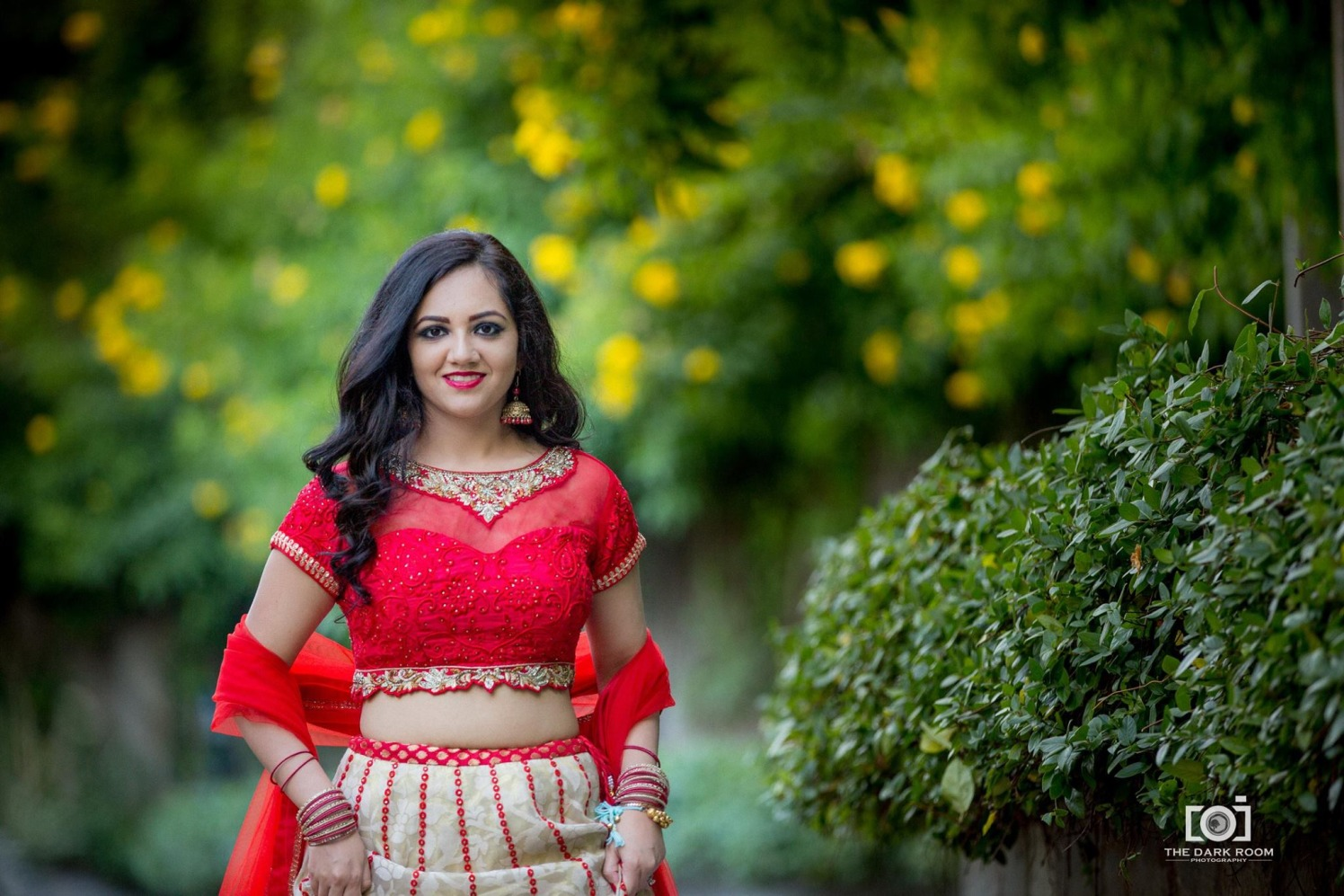 The bright red blouse by The Dark Room Photography Wedding-photography | Weddings Photos & Ideas