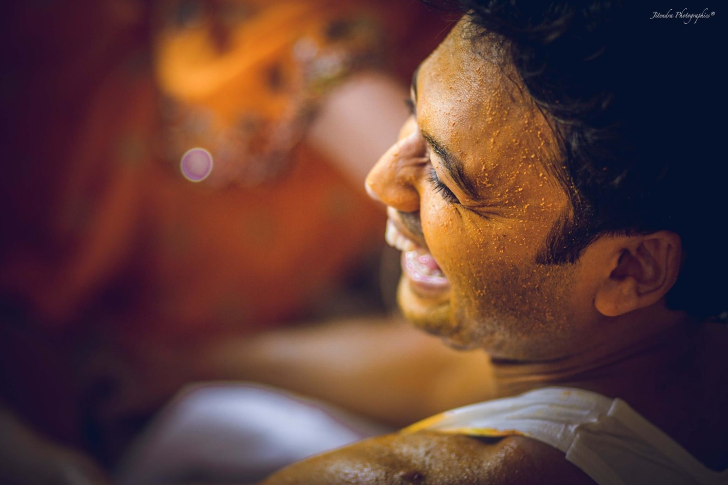 Embedded in haldi by The Dark Room Photography Wedding-photography | Weddings Photos & Ideas