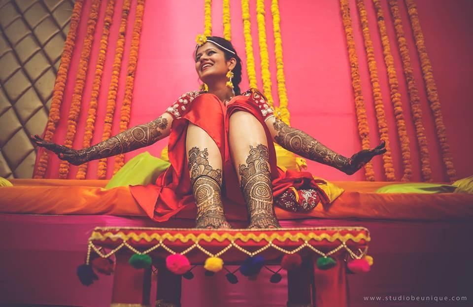 Mehendi Shot by Dushyant Gadara Wedding-photography Bridal-mehendi | Weddings Photos & Ideas