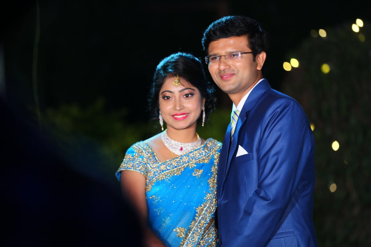 Bride and Groom Pose During Reception by Archana Photography Wedding-photography | Weddings Photos & Ideas