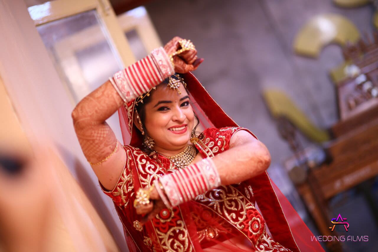 Fun Bride Pose by Archana Photography Wedding-photography | Weddings Photos & Ideas