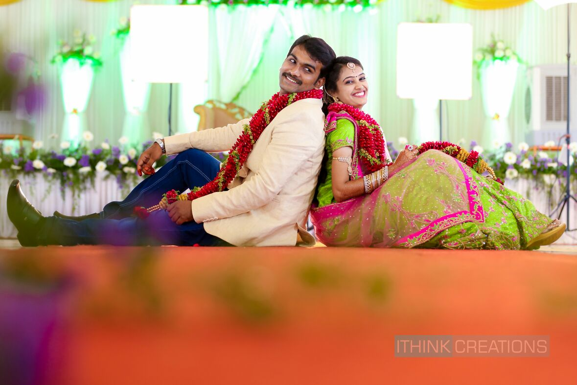 Bride and Groom Romantic Pose by Arun Ar Photography Wedding-photography | Weddings Photos & Ideas
