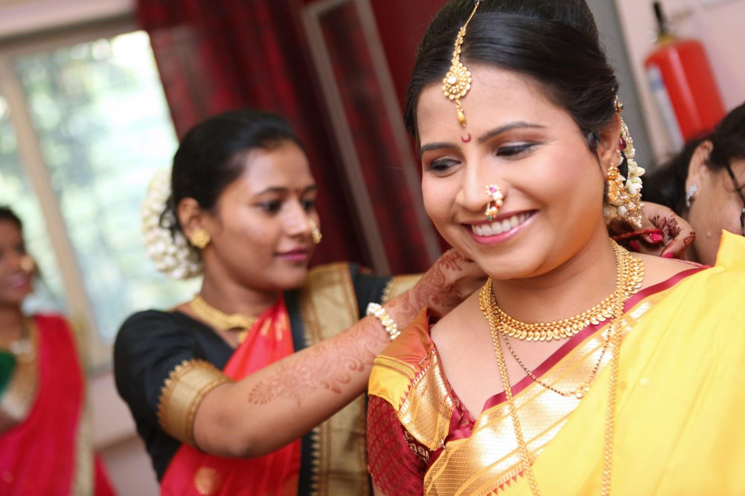Getting Ready Shot by Dharmesh Chawda Wedding-photography | Weddings Photos & Ideas