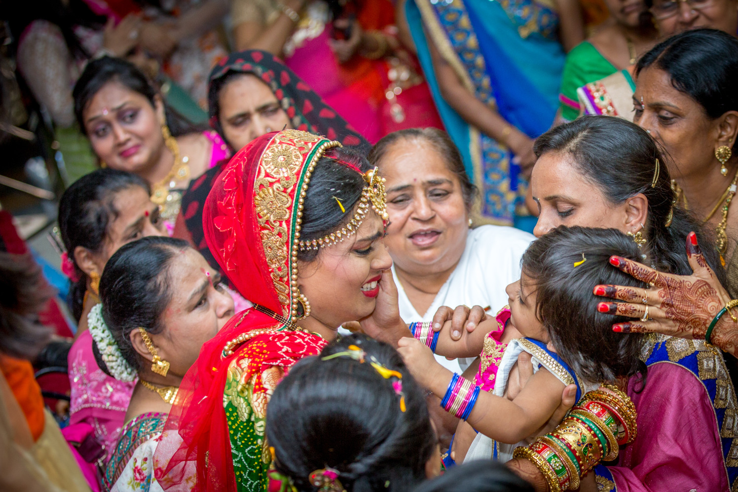 Candid Bride Shot by Dharmesh Chawda Wedding-photography | Weddings Photos & Ideas