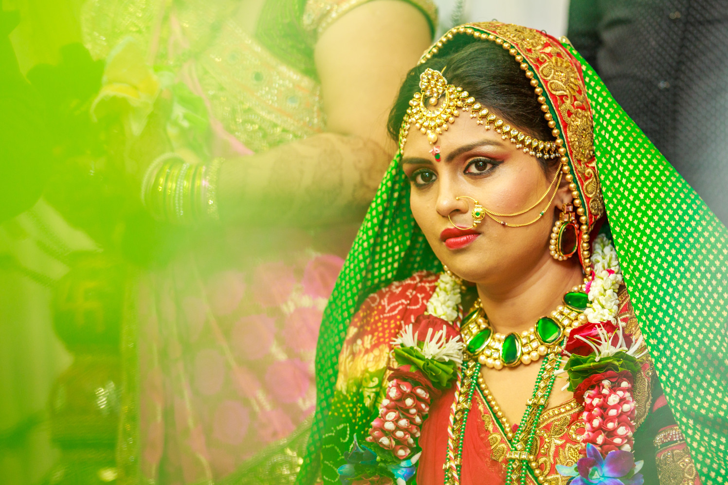 Bride Portrait Shot by Dharmesh Chawda Wedding-photography | Weddings Photos & Ideas