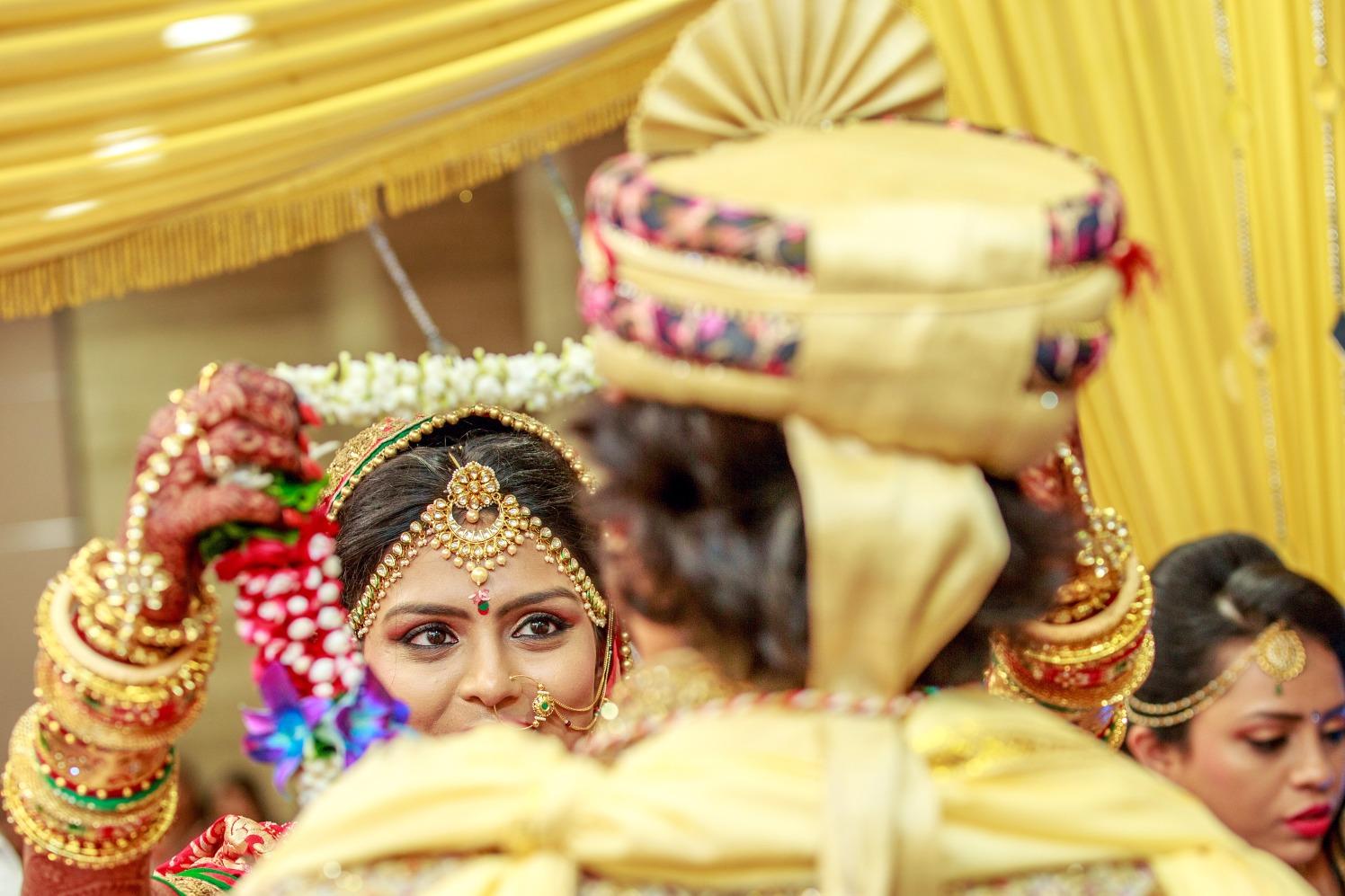 Jaimala Ceremony by Dharmesh Chawda Wedding-photography | Weddings Photos & Ideas