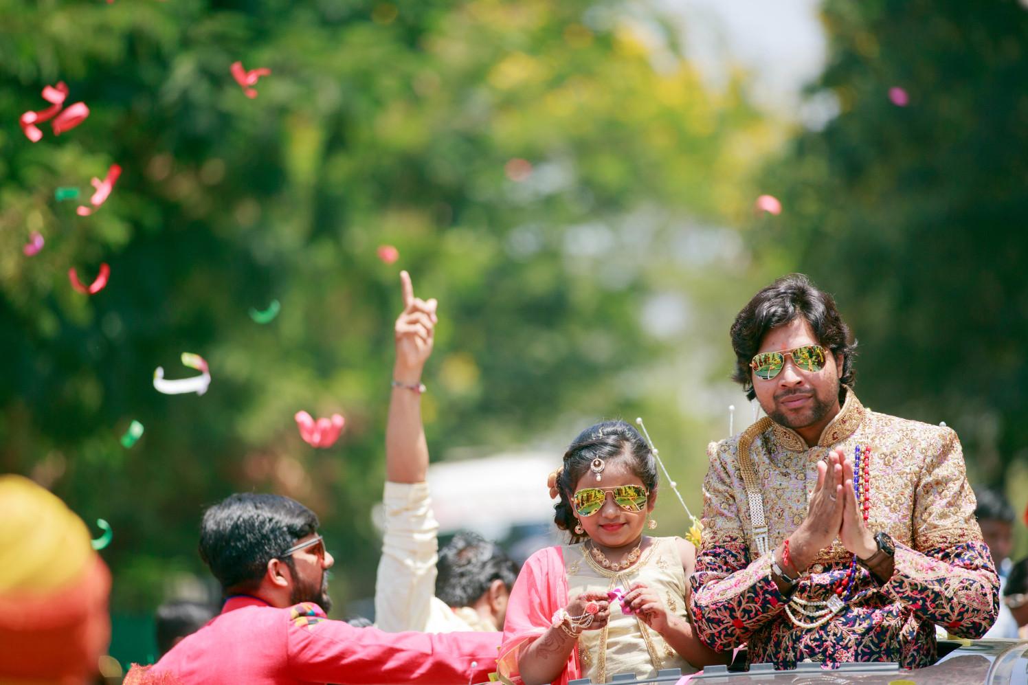 Groom Entry Shot by Dharmesh Chawda Wedding-photography | Weddings Photos & Ideas