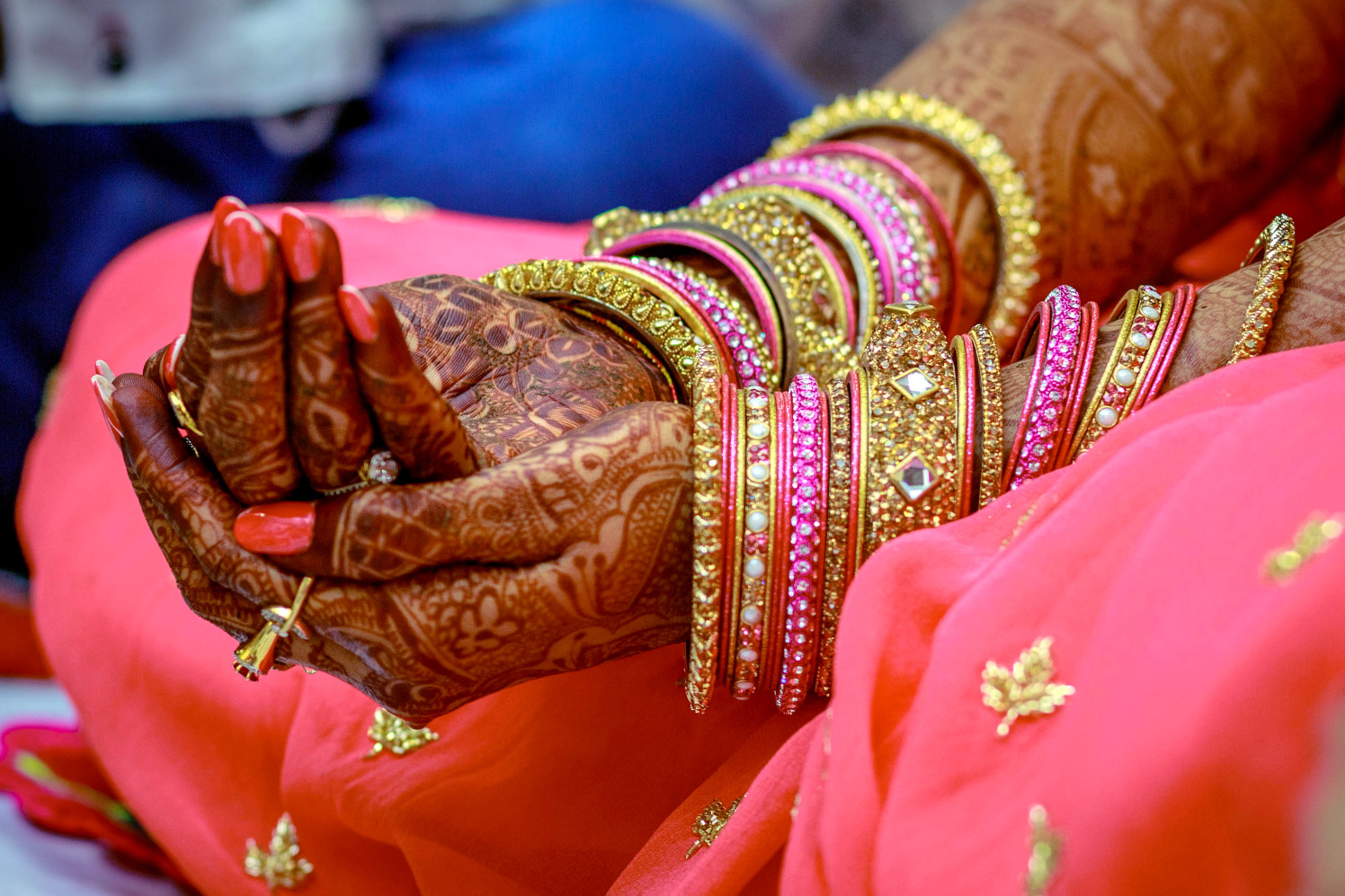 Bride Hand Shot by Dharmesh Chawda Wedding-photography | Weddings Photos & Ideas